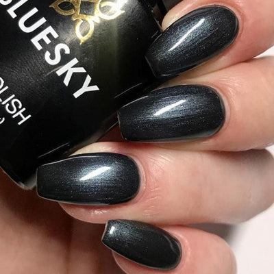 Bluesky UV/LED gel-lak (80540/ Overtly onyx), 10 ml