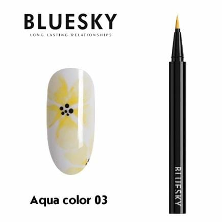 Aqua color nail pen (03)