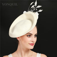 Kentucky Derby Fascinator - Beige, Black Red or Custom Made