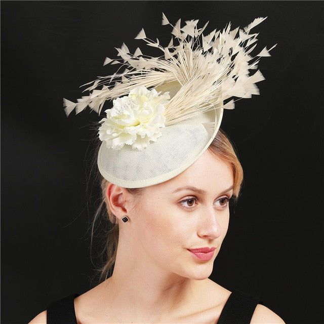 Fantastic Floral Fascinators - Avl. in 24 colors
