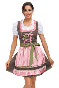 Darling Brown & Pink Oktoberfest Dirndl