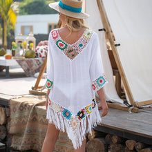 Bikini Cover Up With Fringe Trim (6 Colors)