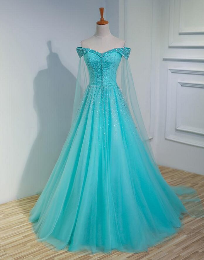 The Ice Queen Ball Gown with Shawl (Can be customized)
