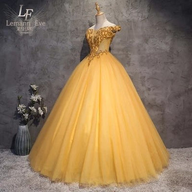 Princess Belle Renaissance Ball Gown
