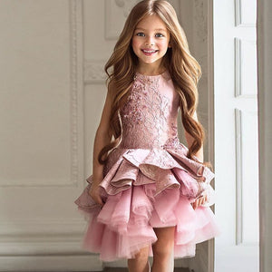 Dress like a Barbie Doll in the Adorable Girls Party Dress (Sizes Toddler - 12)