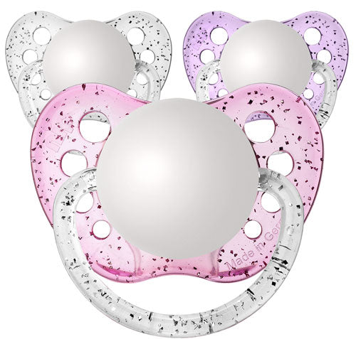 Glitter Girls Newborn Pacifiers