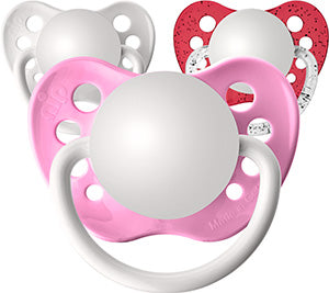 Valentines Girl Pacifiers