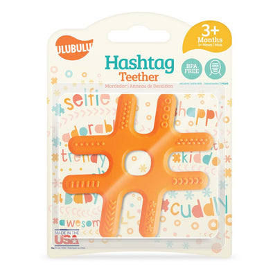 ulubulu Hashtag Silicone Teether