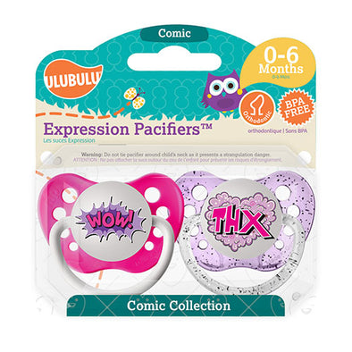 Wow & THX Pacifiers 0-6M Pacifiers (Double Pack)