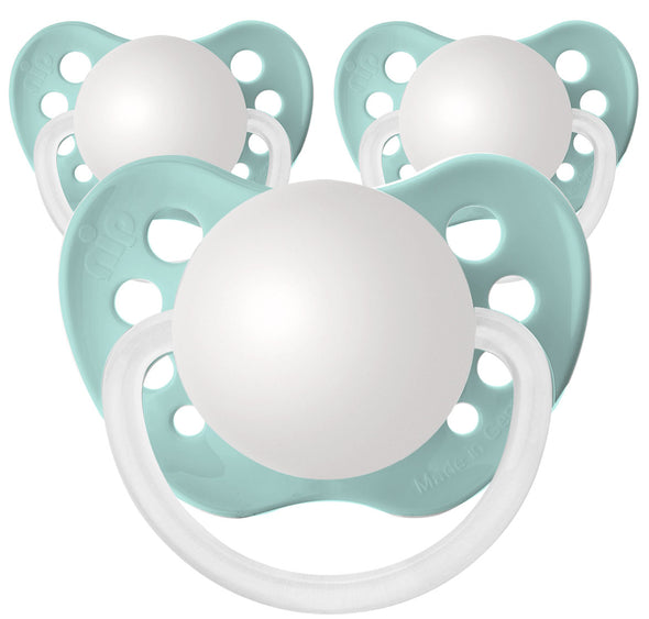 Seafoam Personalized Pacifiers 3 Pack