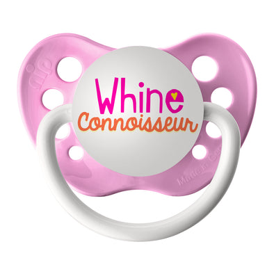 Whine Connoisseur - Pink