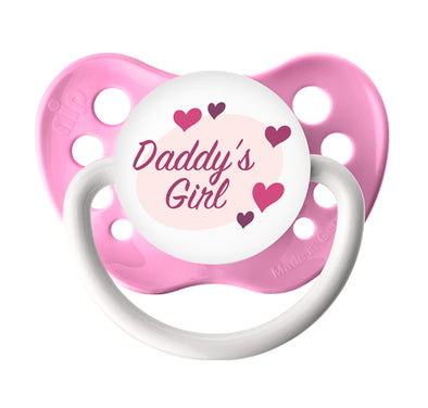Daddy's Girl - Pink Pacifier