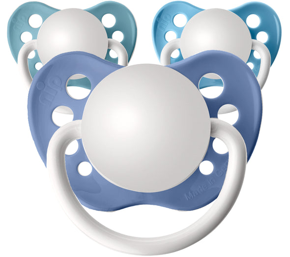 All Blues Personalized Pacifiers 3 Pack
