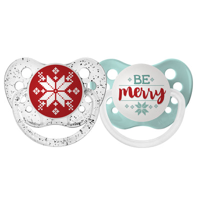 Retro Snowflake & Be Merry