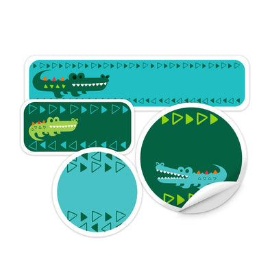 Crocodile Daycare Labels