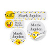 Emoji Daycare Labels
