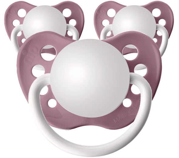 Nectar Pink Personalized Pacifiers 3 Pack