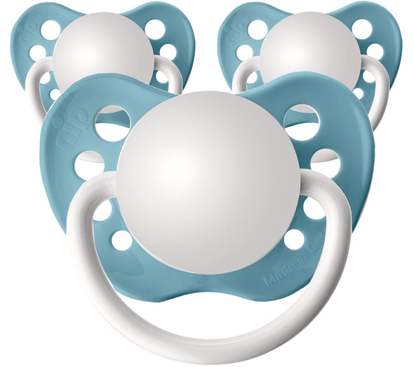 Nile Blue Personalized Pacifiers 3 Pack