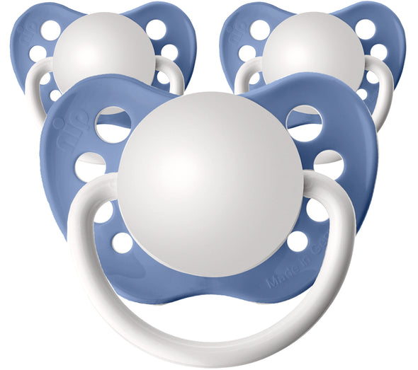 Zen Blue Personalized Pacifiers 3 Pack