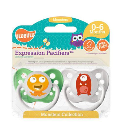 Orange & Green Monsters 0-6M
