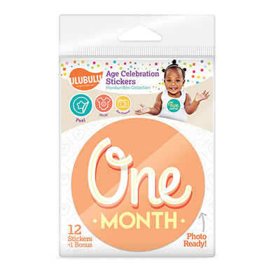 Handwritten Design Age Celebration Stickers