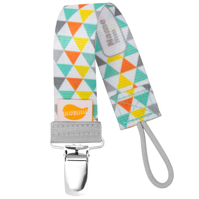 Triangles Pacifier Clip