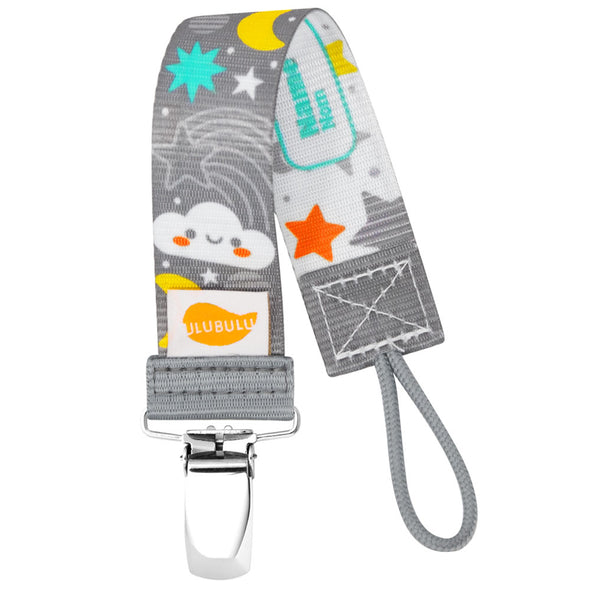 Moon & Stars Pacifier Clip