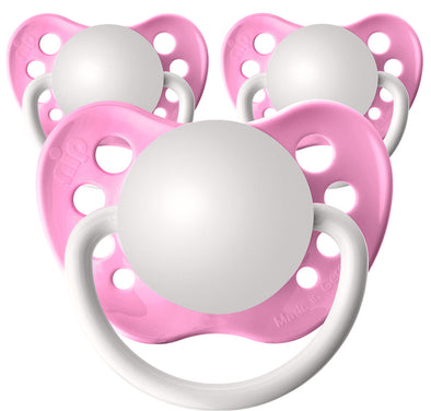 Hot Pink Pacifiers