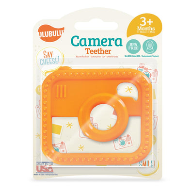 ulubulu Camera Silicone Teether