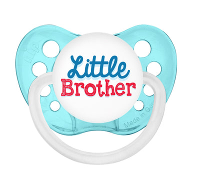 Little Brother - Transparent Blue Pacifier