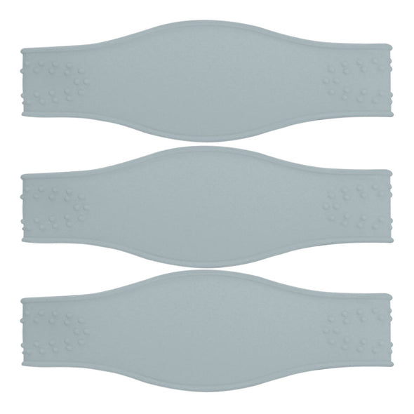 Gray Baby Personalized Bottle Bands