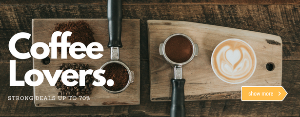 Coffee lovers strong deals