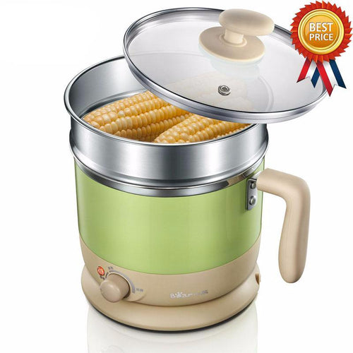 Double cup electric cooking pot