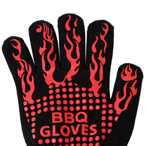 Barbecue Heat Resistant Gloves