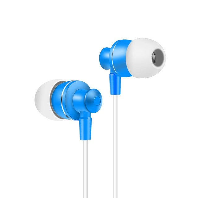 Metal Earbuds Headphone