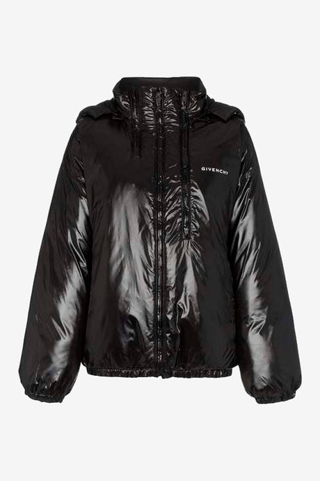 Givenchy puffer jacket black