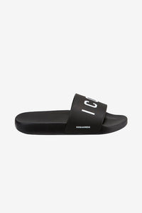 Sandal flip flop with ICON logo at the front