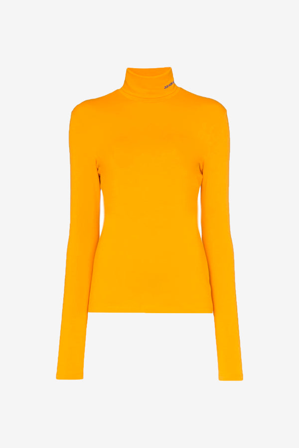 MWTD19 Turtleneck orange long sleeves