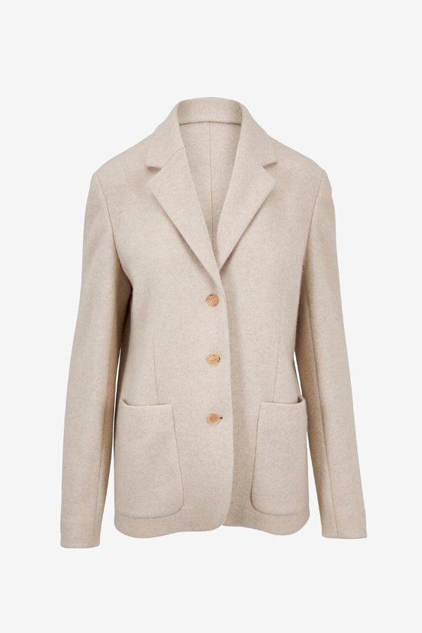 Light beige Defi Cashmere Jacket