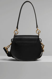 Chloè Tess small black front back