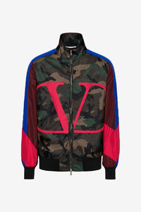 Camoflage Logo Patch Jacket