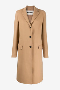 Camel colored coat in cashmere