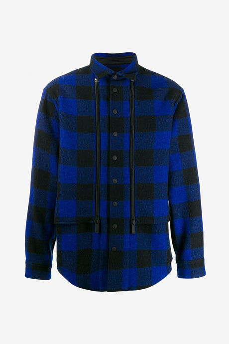 Checked Over Shirt
