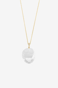 43CM necklace in 14k yellow gold