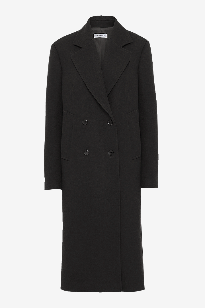 Remain Birger Christensen wool coat black