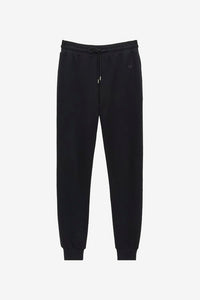 Black sweatpants with small logo