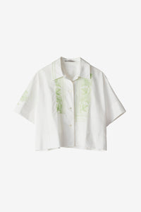 Livvi Poplin Embroidered Shirt
