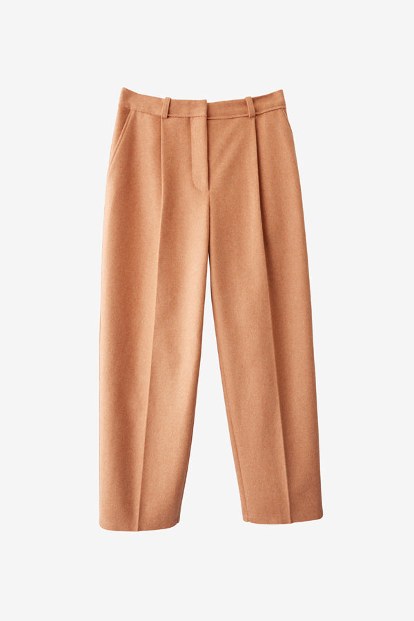 Acne Studios Flannel Trousers Dusty Pink