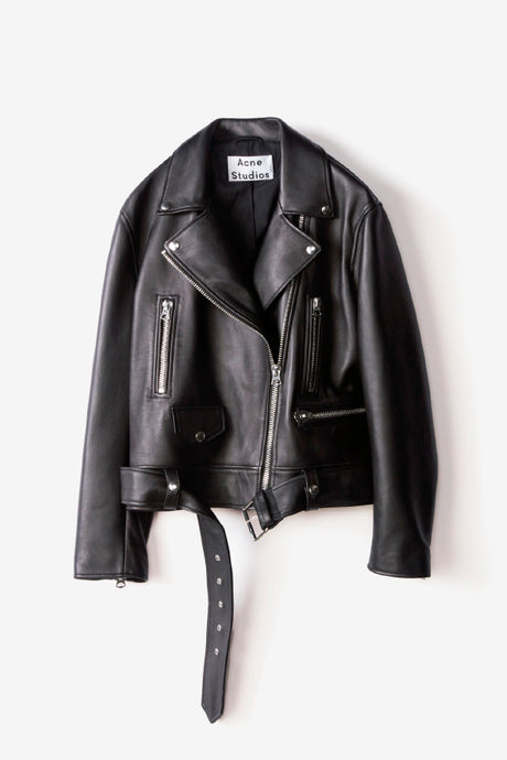 Acne Studios Merlyn jacket leather black