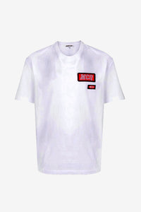 Alexander McQueen Logo Patch Tee Bright White